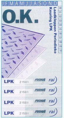 LPK keuringssticker